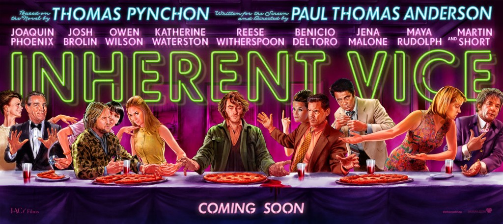 Inherent Vice - Last Supper Art Poster