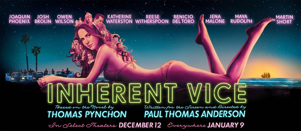 Inherent Vice Film Website Masthead