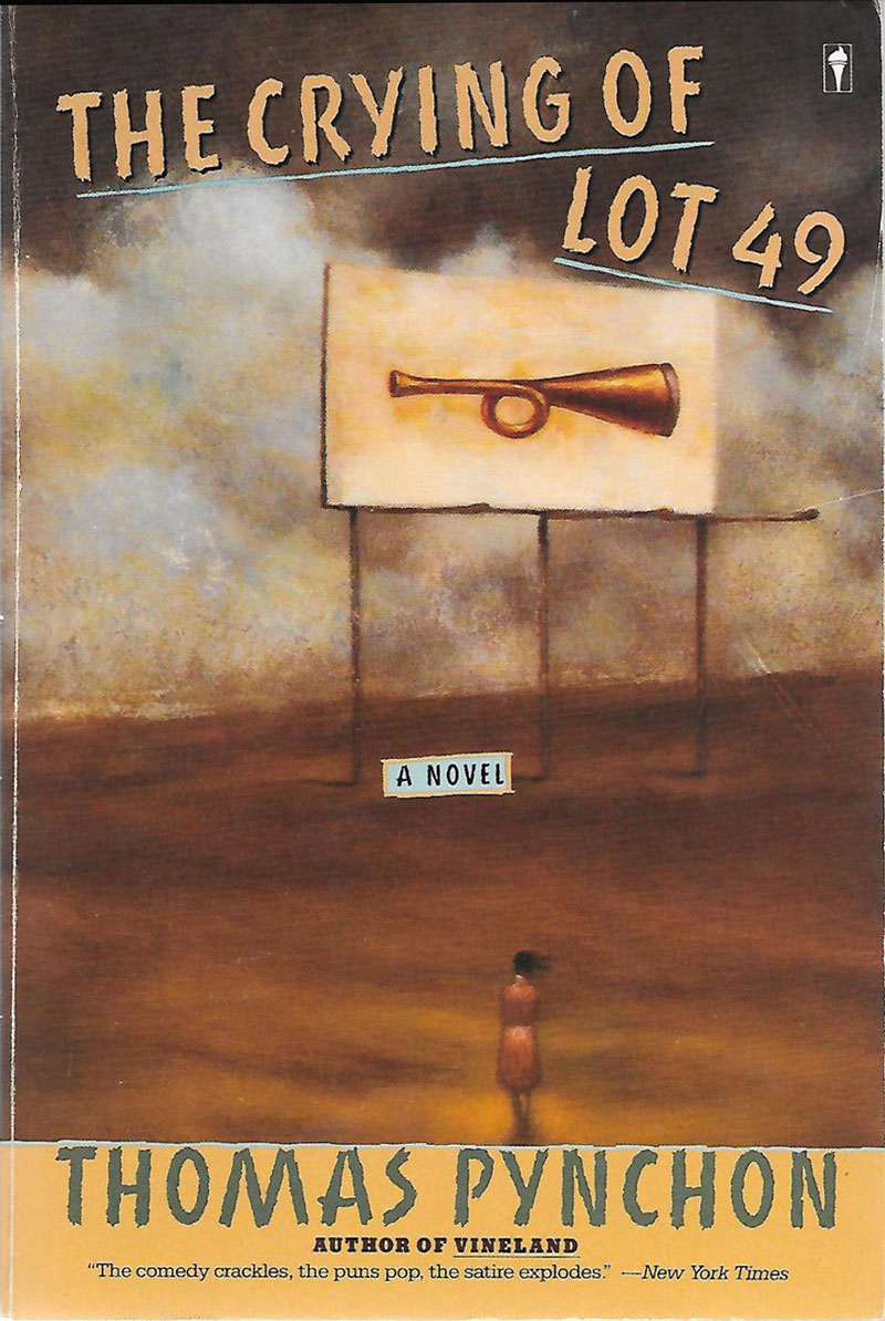 the unfinished quest in the crying of lot 49 a novel by thomas pynchon