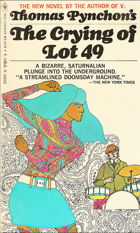 book review about the crying of lot 49 The loveliest book group in london reads the crying of lot 49 by thomas pynchon includes discussion questions, synopsis and reviews.