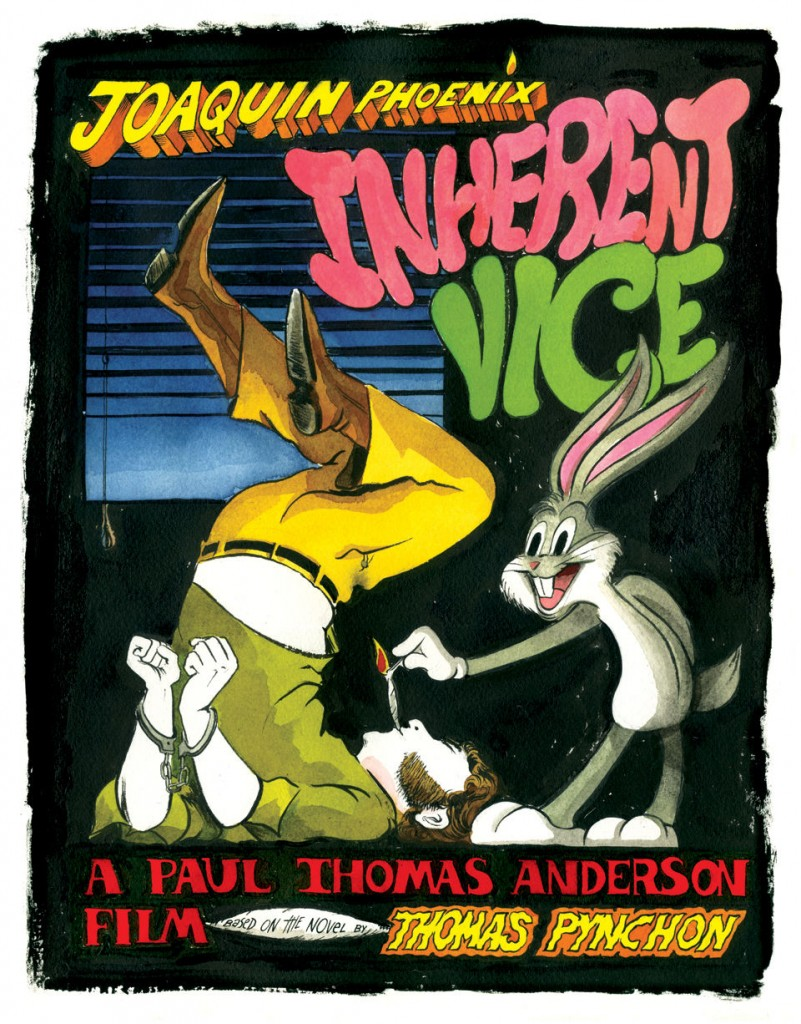 Alex Fellows - Inherent Vice Poster