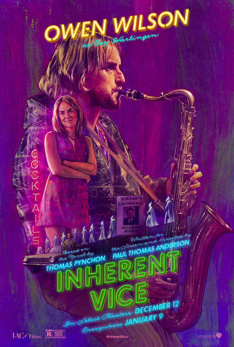 new inherent vice posters � pt anderson � thomas pynchon