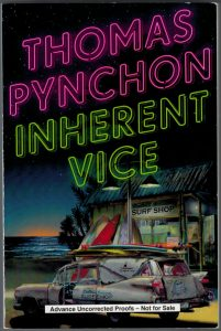 Thomas Pynchon - Inherent Vice - ARC