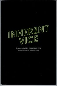 Thomas Pynchon - Inherent Vice - Screenplay