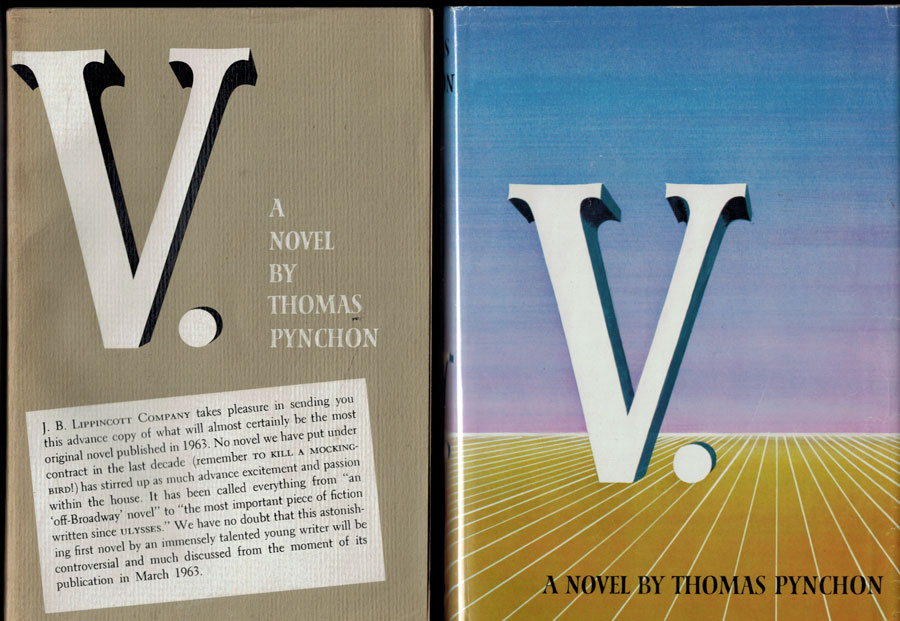 Thomas Pynchon - V. - Galleys and First Edition